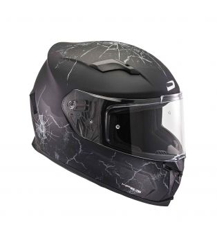 Casco Graphic HP5.31 Shadow Nero opaco