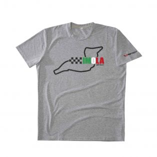 T-Shirt Temples Of Speed Imola Grigio