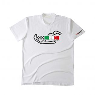T-Shirt Temples Of Speed Misano Bianco