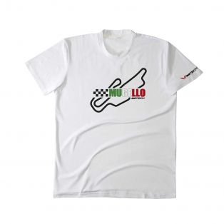 T-Shirt Temples Of Speed Mugello Bianco