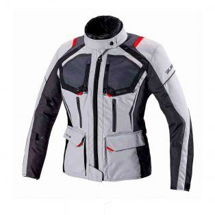 Giacca Touring Wander Waterproof Lady Ghiaccio/Antracite/Nero