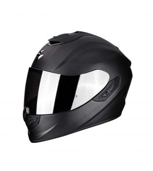 Casco EXO-1400 Carbon Air Solid Nero Opaco