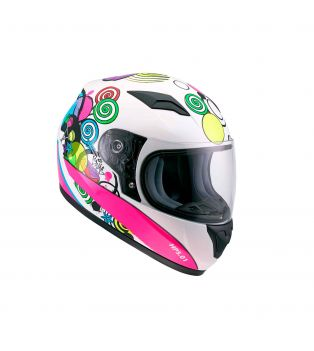 Casco HP5.01 Kid Bubbles White