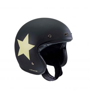 Casco Jet HP4.41 Star Nero Opaco