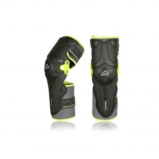 Ginocchiere X-Strong Knee Nero/Giallo Fluo