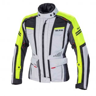 Giacca touring Finder Aquadry Lady Ghiaccio / Giallo Fluo / Antra