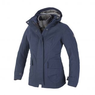 Giacca lunga Montenapoleone Lady Aqvadry Blu Navy