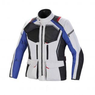 Giacca Touring Wander Waterproof Lady Ghiaccio/Antracite/Blu