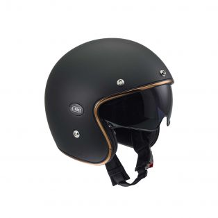 Casco jet HP4.51 Matt Black