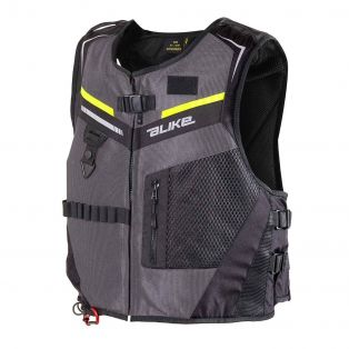 Gilet Airbag A-Bag Full Link Grigio Antracite / Giallo Fluo