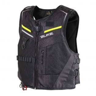 Gilet Airbag A-Bag Full Link Nero / Giallo Fluo