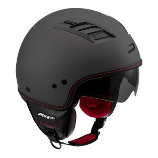 Casco da moto HP2.60 AIR Antracite opaco