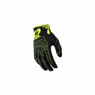 Guanti da cross Sniper Elite MY21 Nero/Giallo Fluo