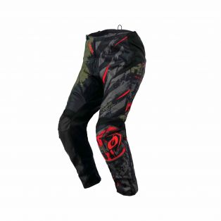 Pantaloni motocross Element Ride MY21 Nero/Verde