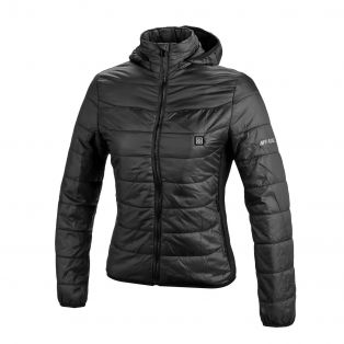 Piumino da donna riscaldabile Thermo Fire Nero